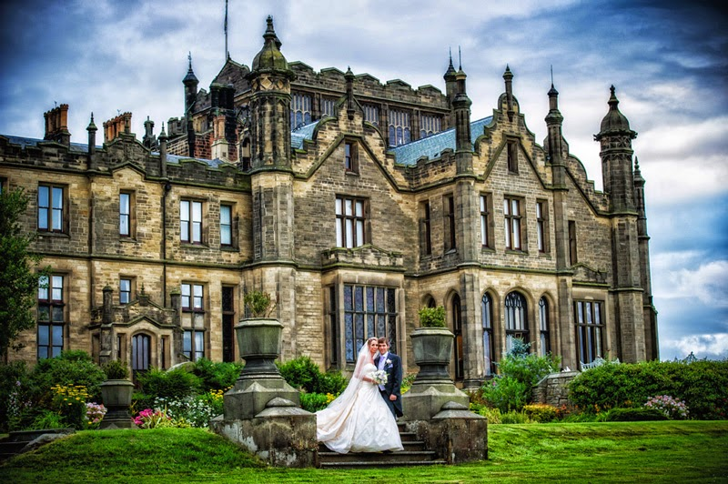 Wedding at Allerton Castle