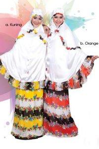 Mukena Dewasa Tatuis Tiara 091 - Kuning (Toko Jilbab dan Busana Muslimah Terbaru)