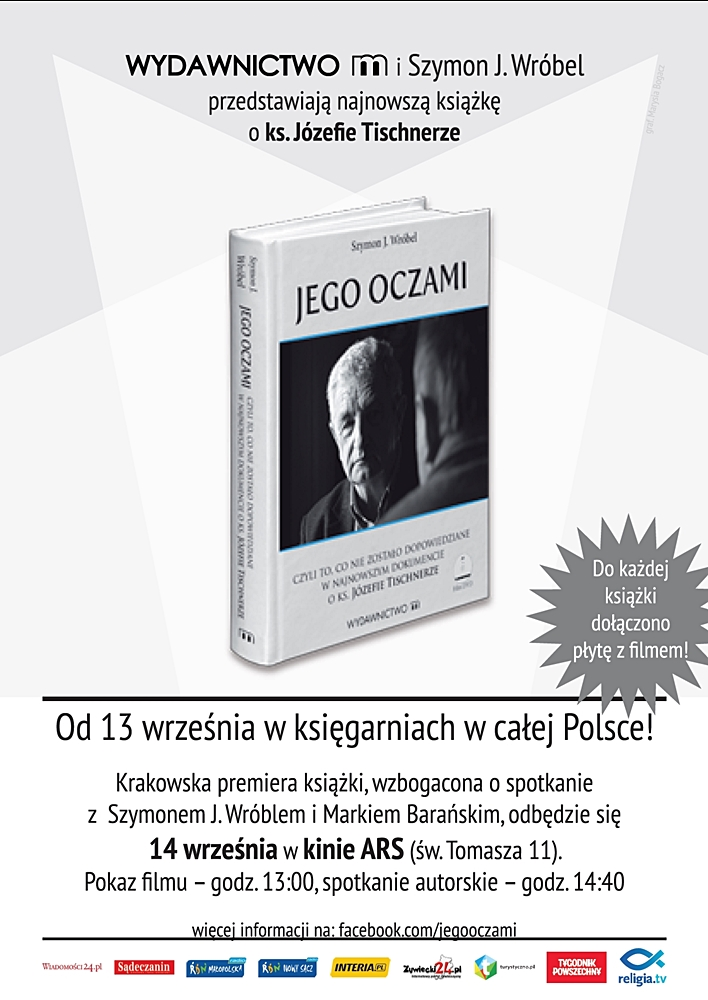 """Szymon J. Wróbel, Marek Barański """"Jego Oczami"""""""