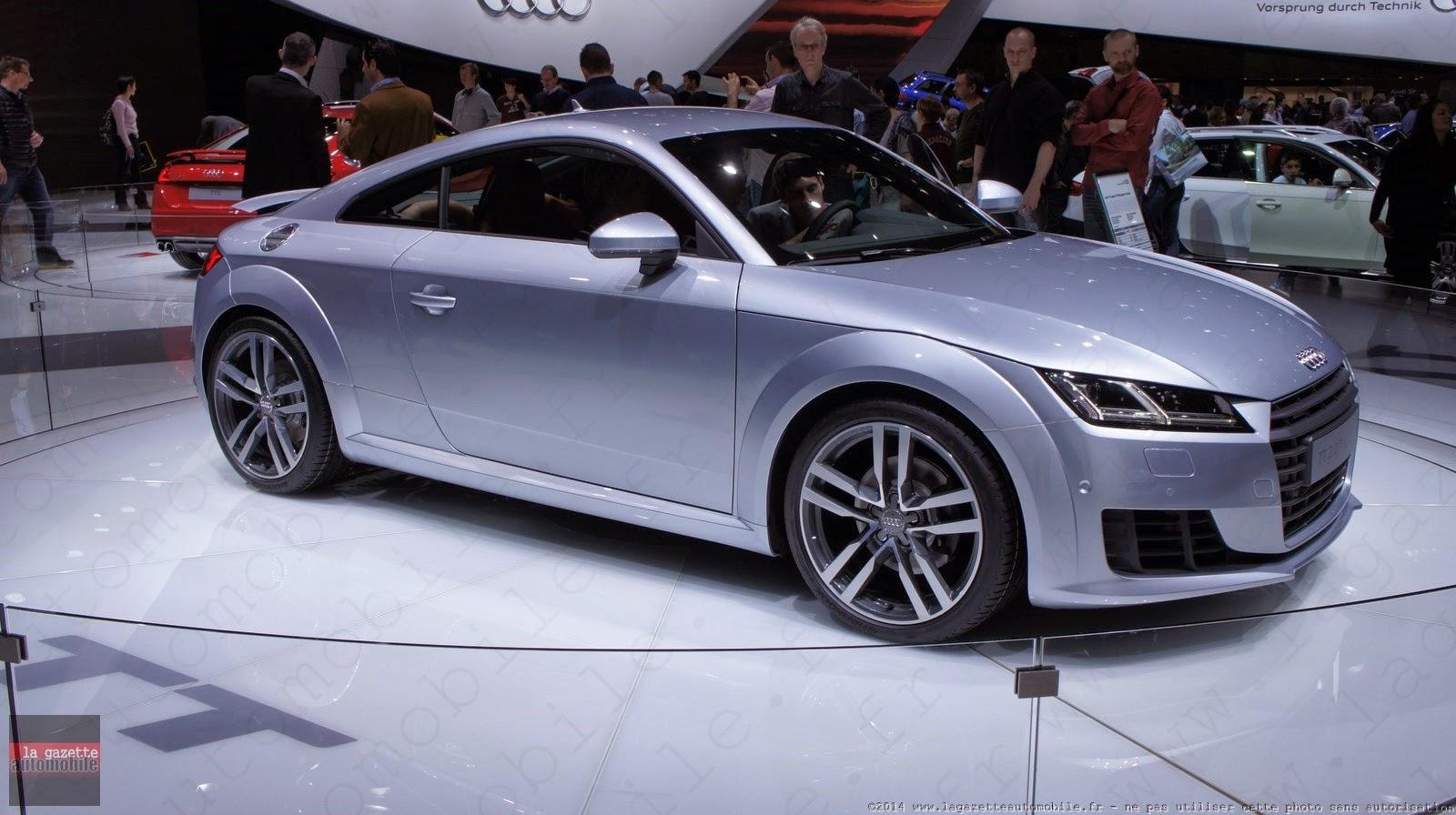 Genève : Audi TT III