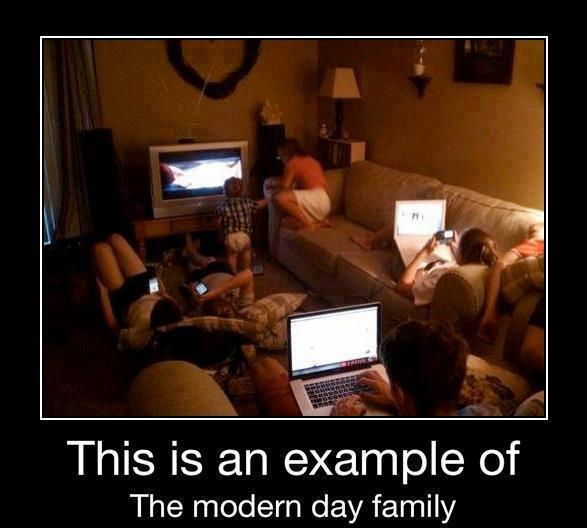 Funny Jokes on Modern day family
