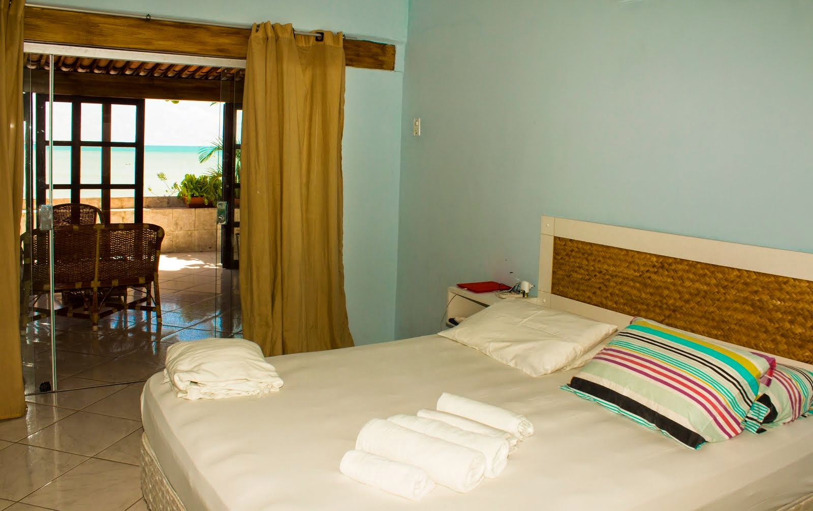 COCO BEACH SUITE MASTER VISTA MAR DA CAMA