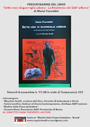 Venerdì 6 novembre 2015, ore 17,30, Viale di Tormarancia 121.