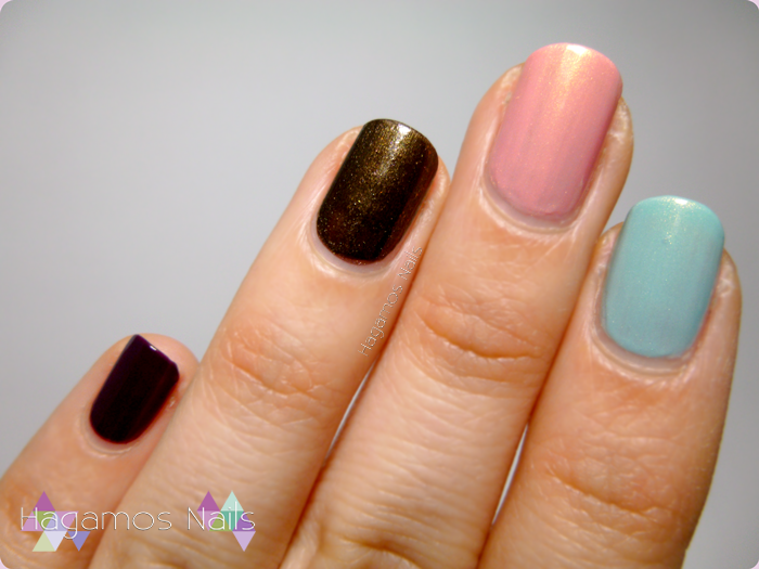 Ganador del Sorteo de Just a Nailaholic!. Swatches. HAGAMOS NAILS