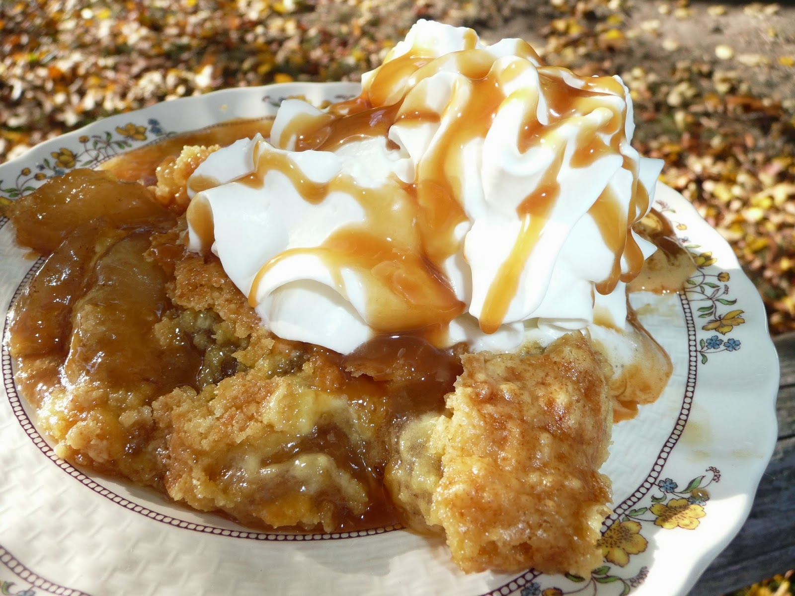 Apple Crisp Using Cake Mix