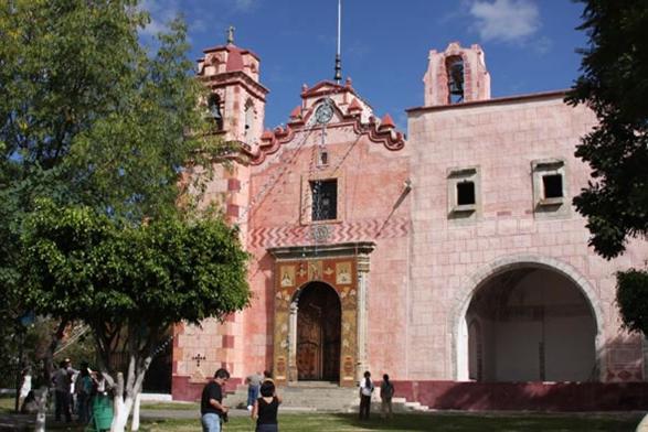 Ex Convento de la Inmaculada Concepción en Zacualpan de Amilpas