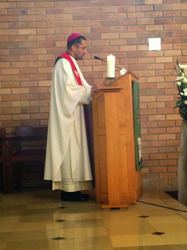 #SACBC - What call is made on us to offer hope (Bp Sipuka)