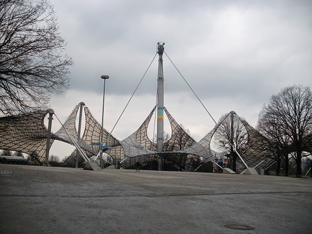 Olympic Park in Munich, Germany