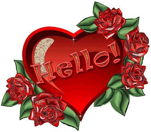 corazón hello
