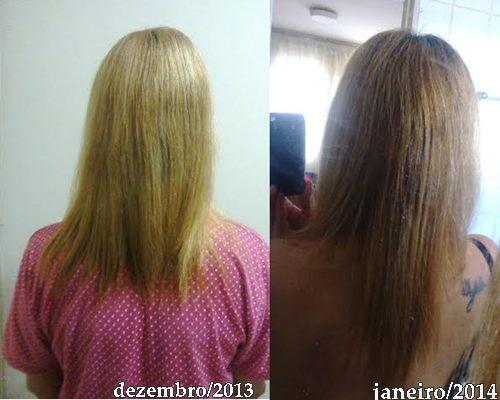 Fotos do cabelo da Raquel