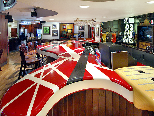 Van halen van halen hard rock cafe for Ash wallpaper mural