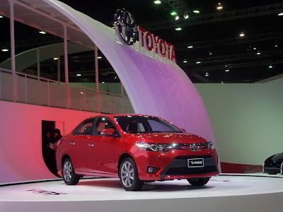 Harga All New Toyota Vios 2013 di Indonesia