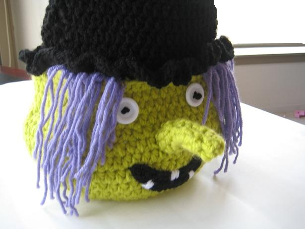 Crochet Dreamz: Boo Halloween Witch Basket ( Free PDF ...