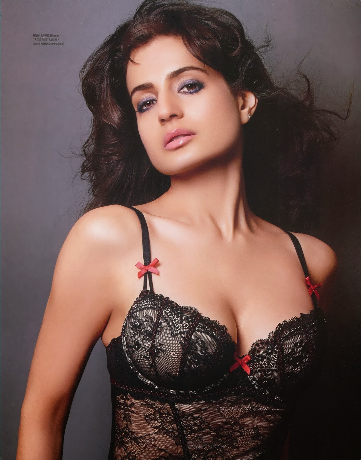 Ameesha Patel Hot MAXIM Shoot