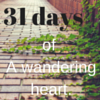 31 Days of Writing 2015