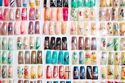 100 ideas creativas sobre decoración en uñas de acrílico - Memorias de la vanidad - Mujeres lindas
