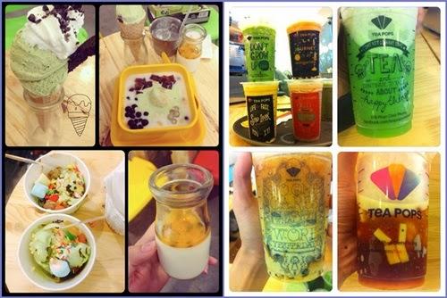 Hấp dẫn với đồ uống và tráng miệng matcha ngon tại Tea Pops