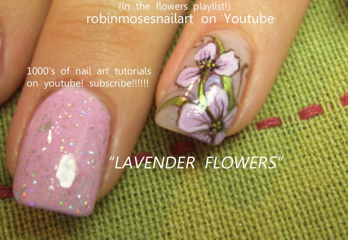 Robinmosesnailart April Showers Bring May Flowers Robin Moses