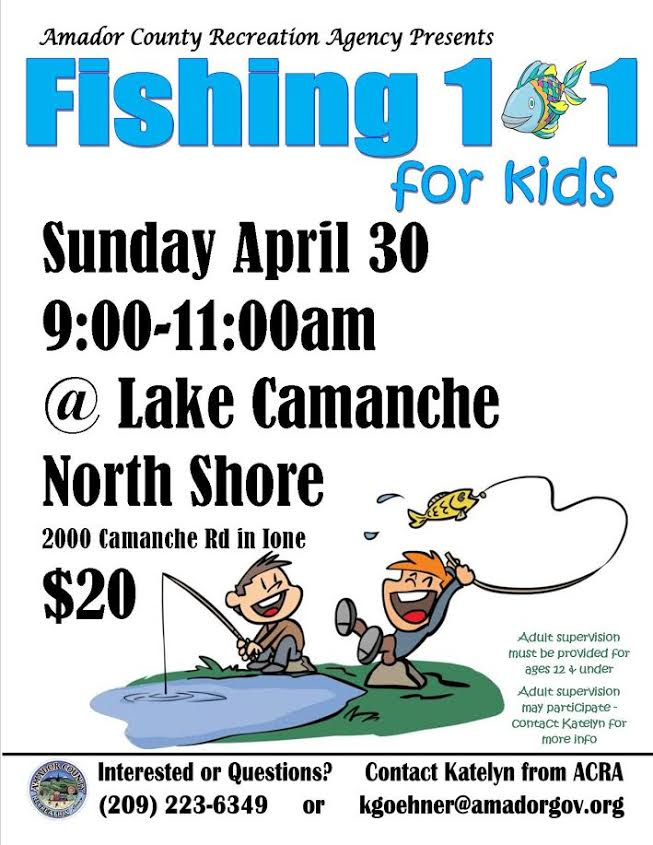 Fishing 101 for Kids - Sun Apr 30