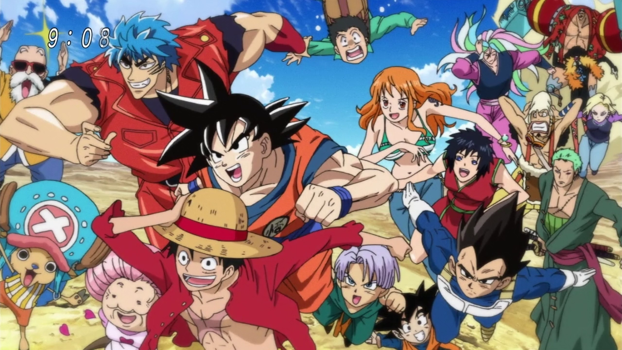 Toriko one piece dragon ball z subt todo 1link identi - Dragon ball one piece ...