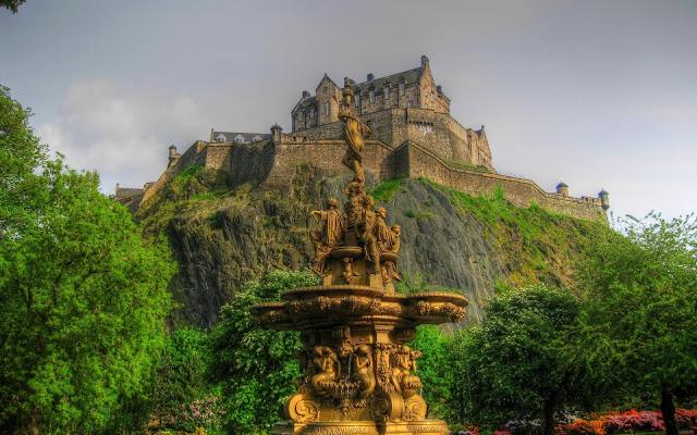 Edinburgh, Scotland, Wallpapers, Desktops