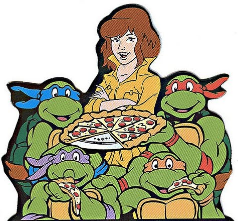 The Television Crossover Universe Pass The Pizza Teenage Mutant