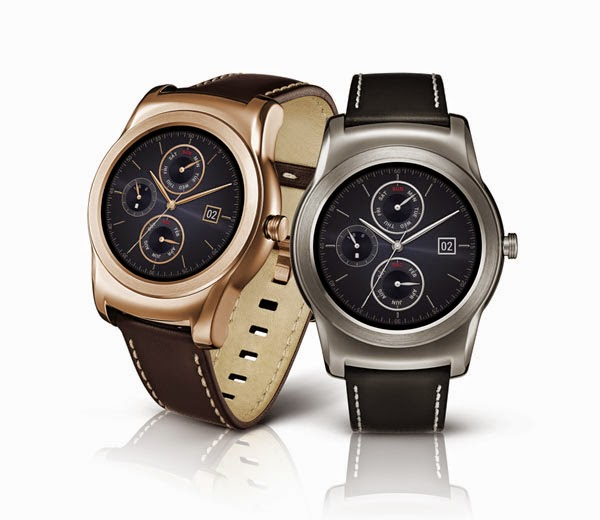 LG shows off Watch Urbane with heart rate sensor
