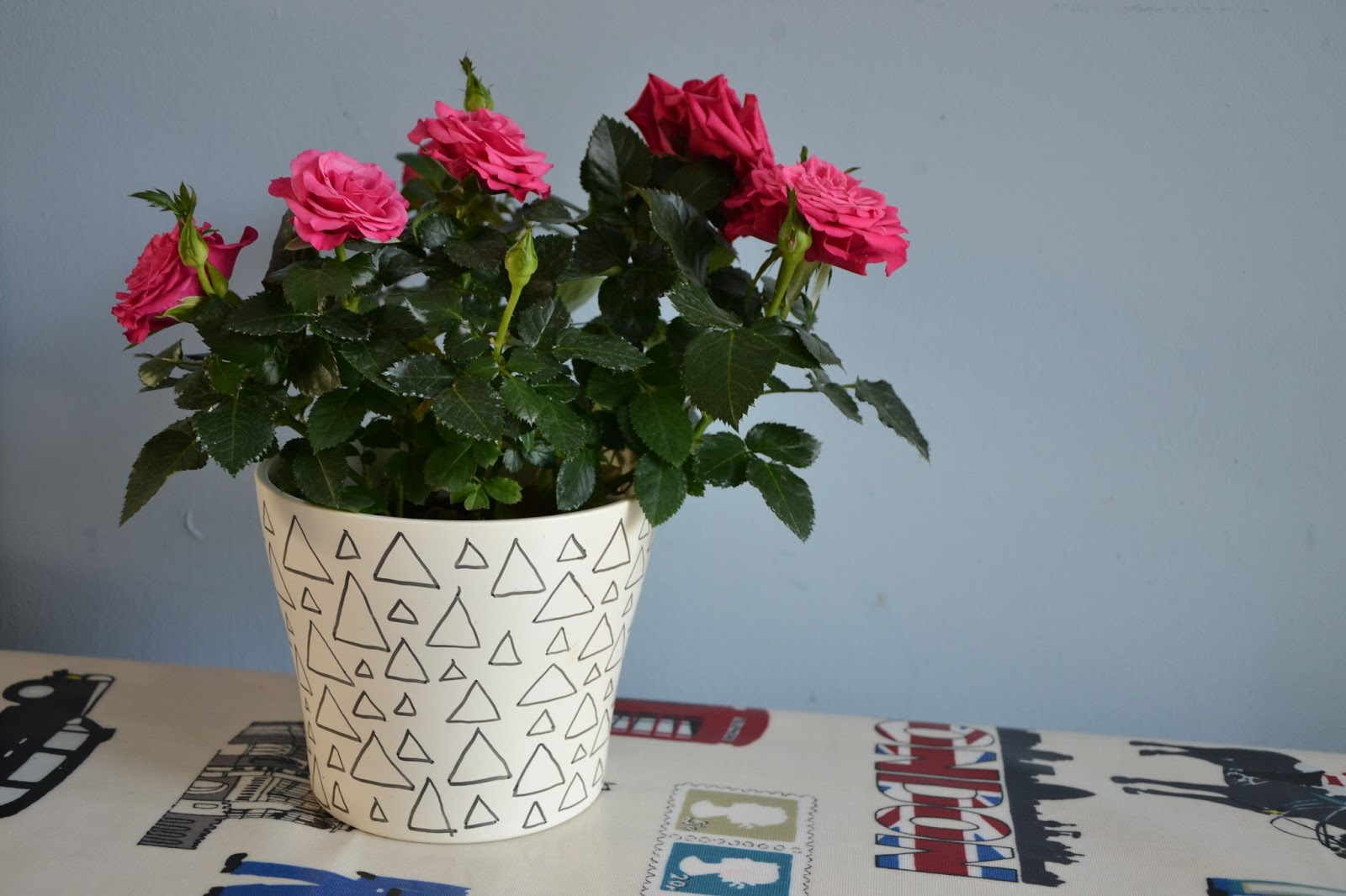 Sharpie Flower Pot