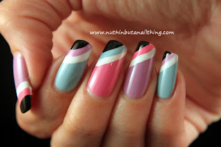 Sinful Colors Sugar Rush collection; Cotton Candy (pink), Candy Coated (lilac) and Sugar Rush (blue).