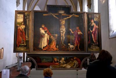 Isenheim altarpiece, altarskåp