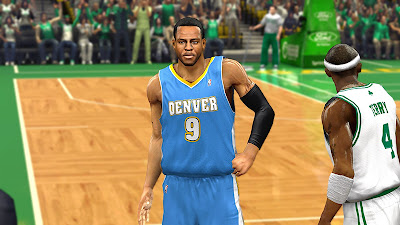NBA 2K13 Detailed Andre Iguodala Face Patch