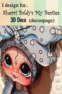 I design for Bestie 3D Deco: