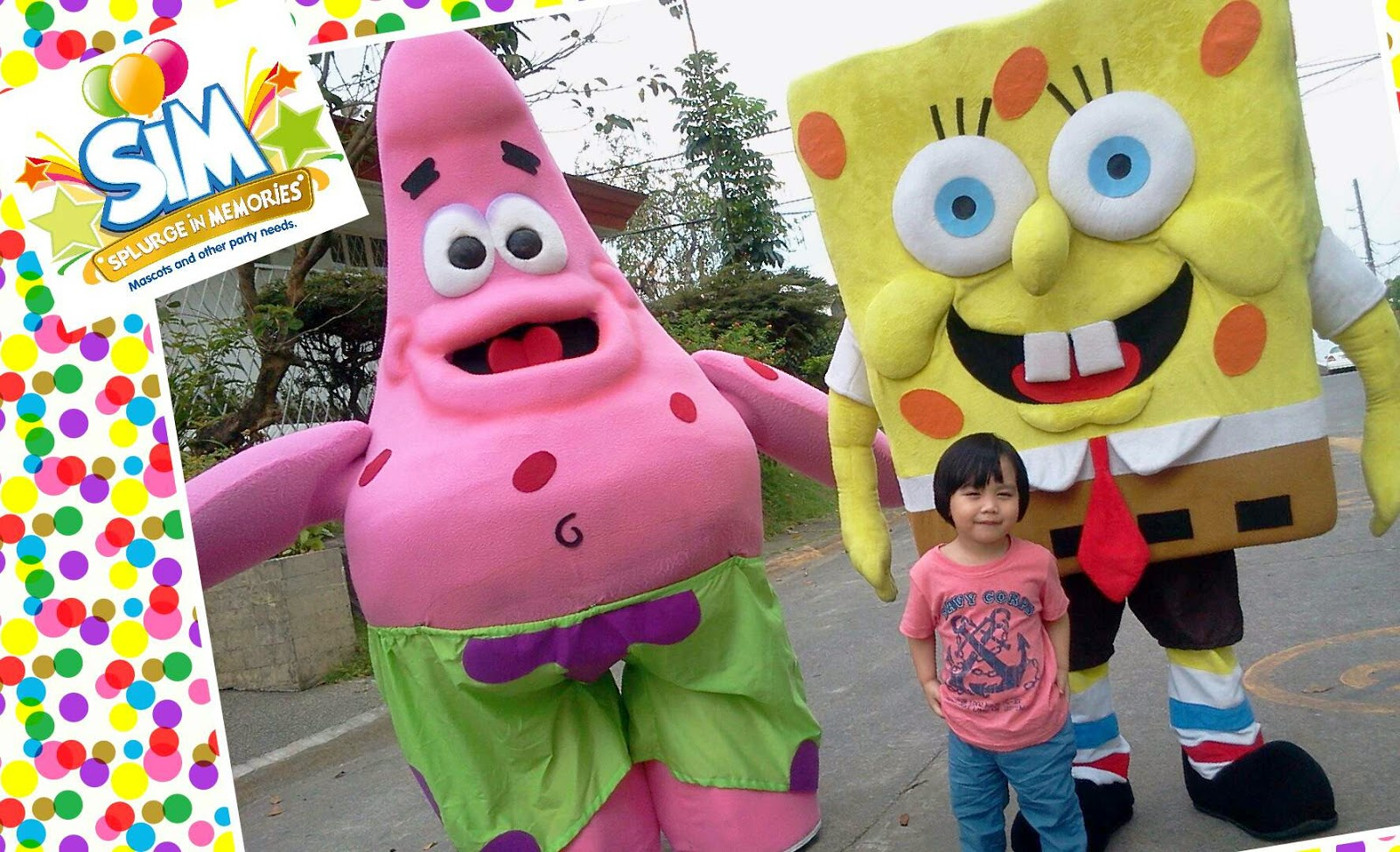 Rina's Rainbow: Splurge in Memories: Mascots For Your Special Parties!
