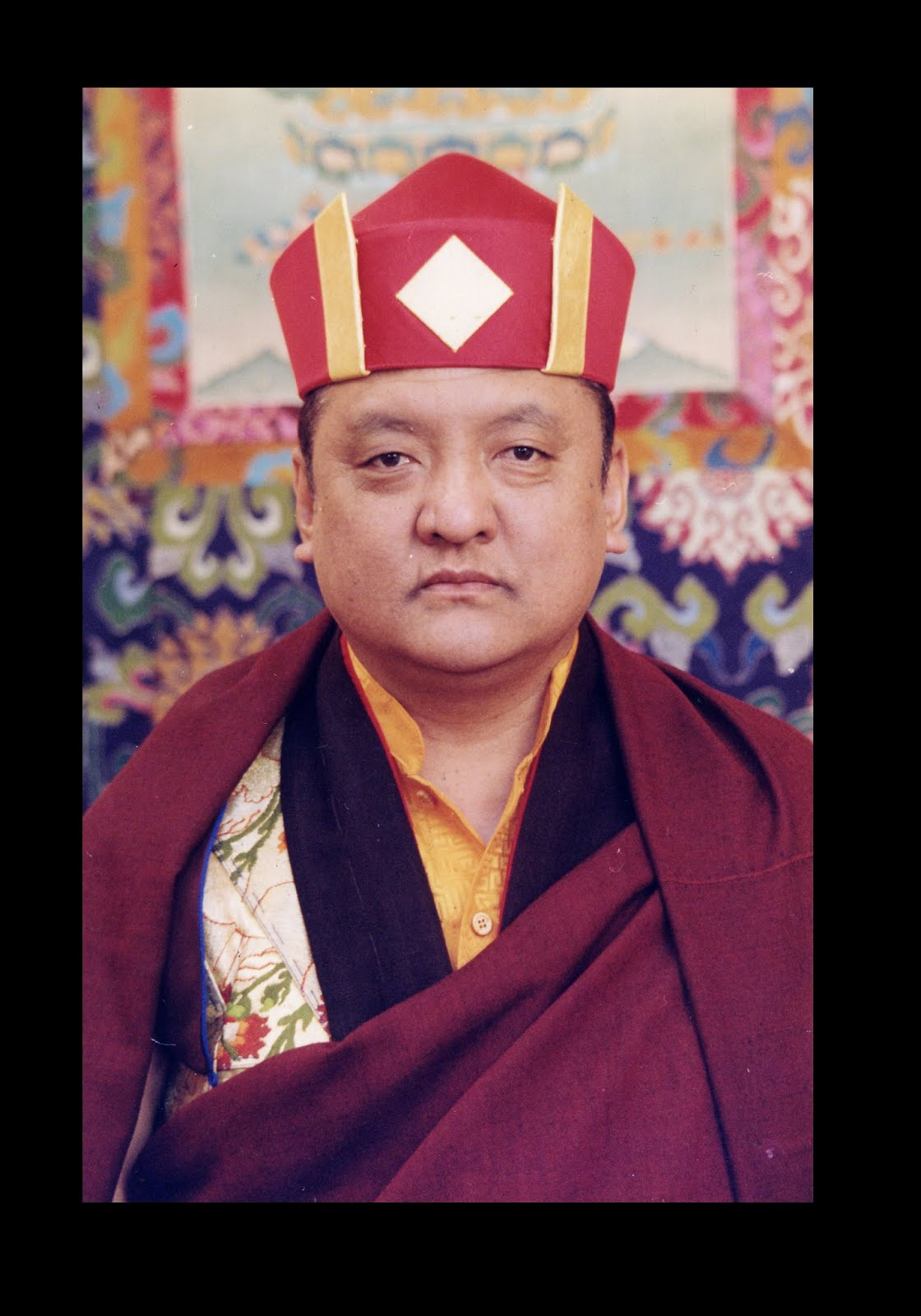 HH the 14th Kunzig Shamar Rinpoche.