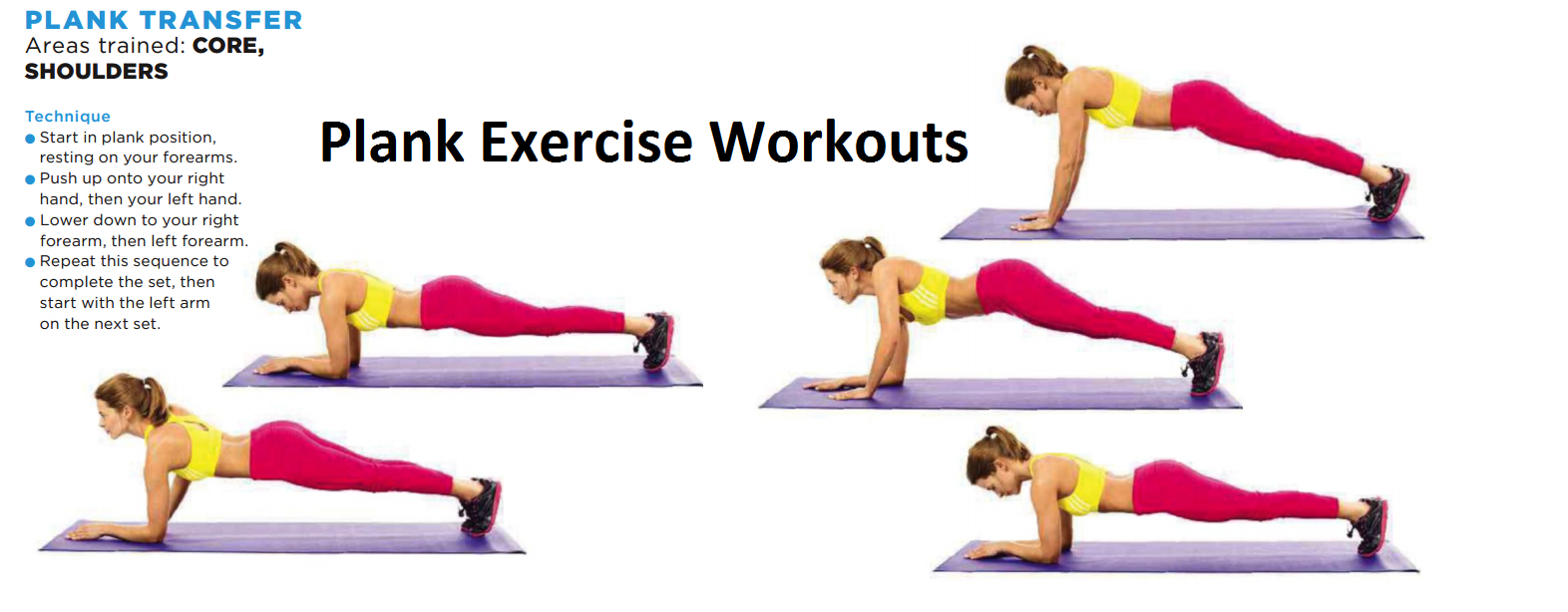 Plank Exercises Routin...