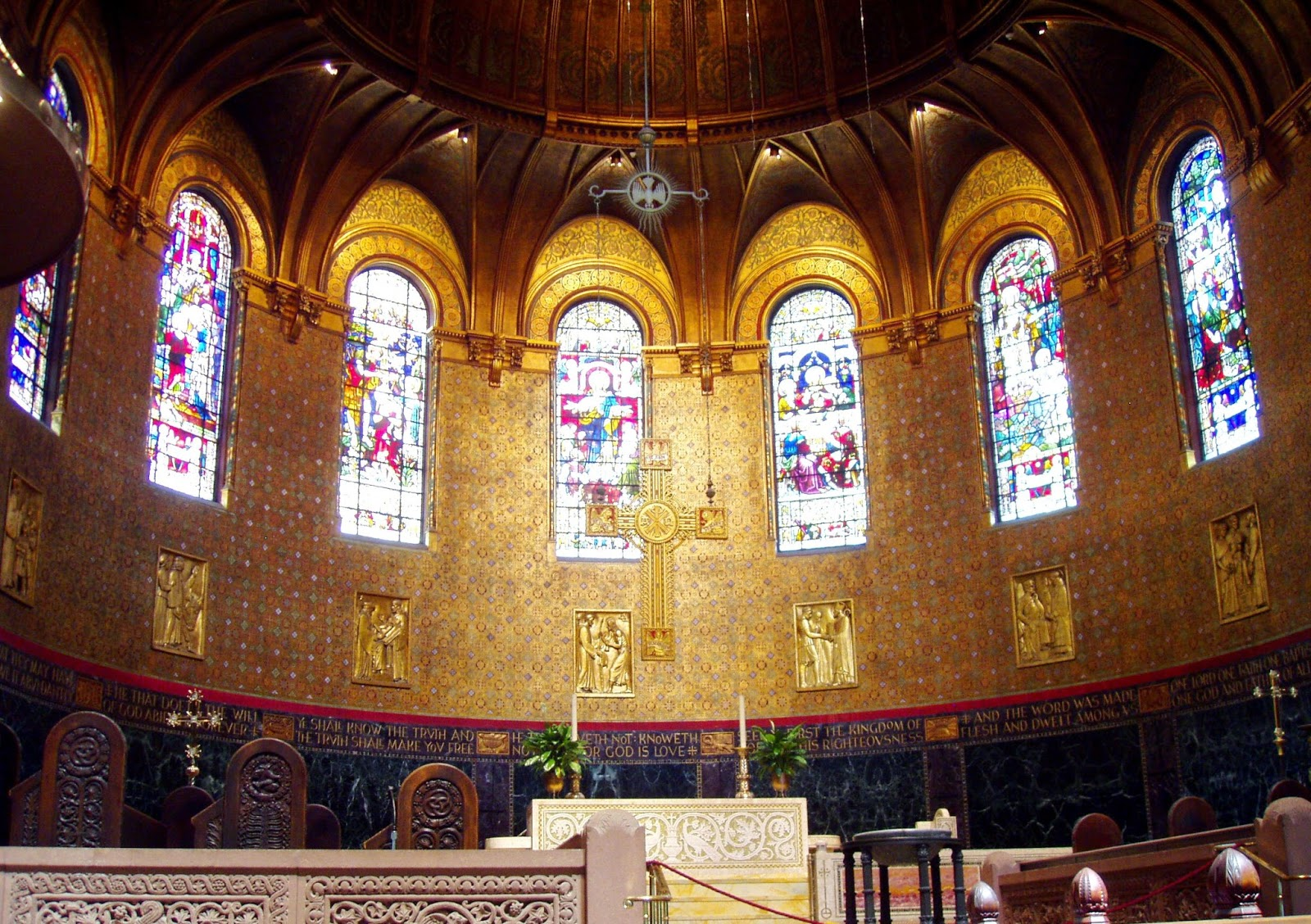 Trinity Church Boston Massachusetts most famous buildings in united states architecture (1)