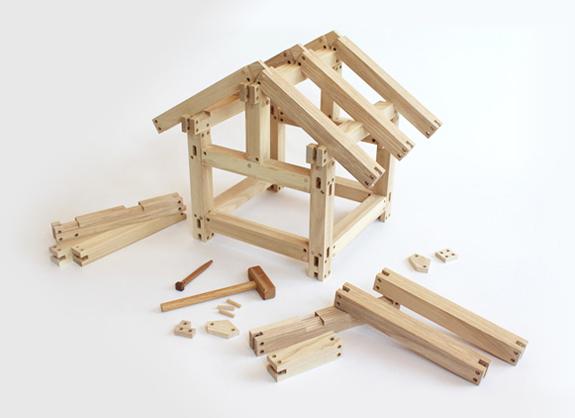 遊びながら作る家づくりDIYキット