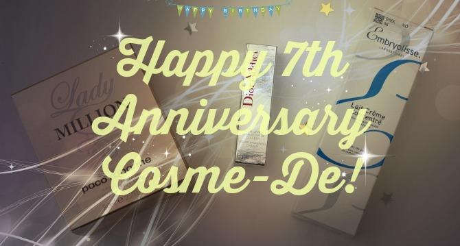 Happy Anniversary Cosme-De