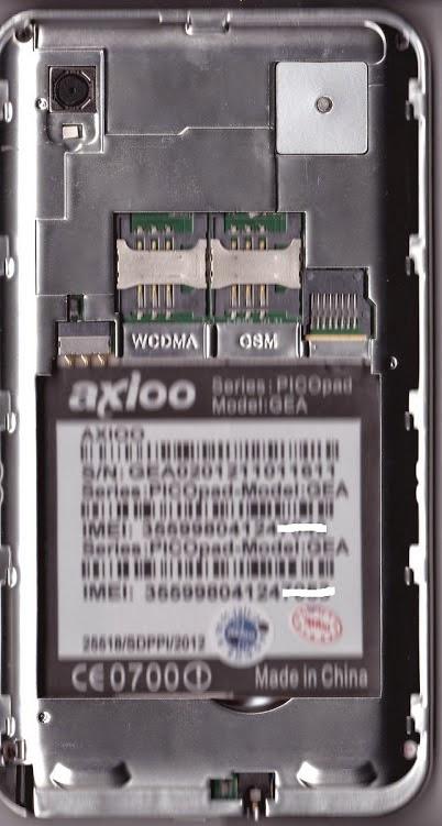 Unbrick Axioo Picopad 5 Gea