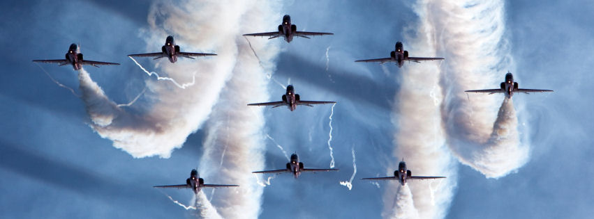 Royal airforce aerobatic team facebook cover