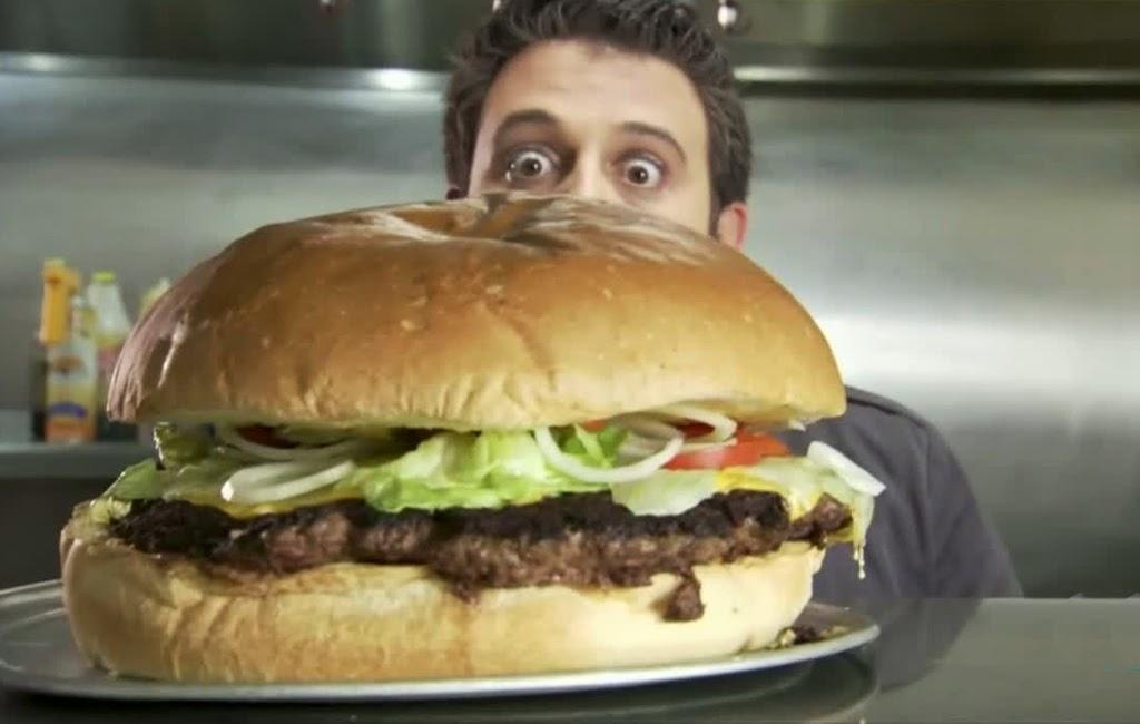 hamburguesa gigante en cronicas carnivoras