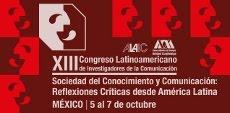 XIII Congreso ALAIC Ciudad de México, 5, 6 y 7 de octubre de 2016