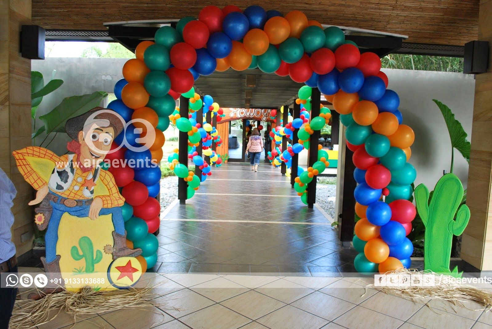 aicaevents: Toy story Theme Birthday party decorations