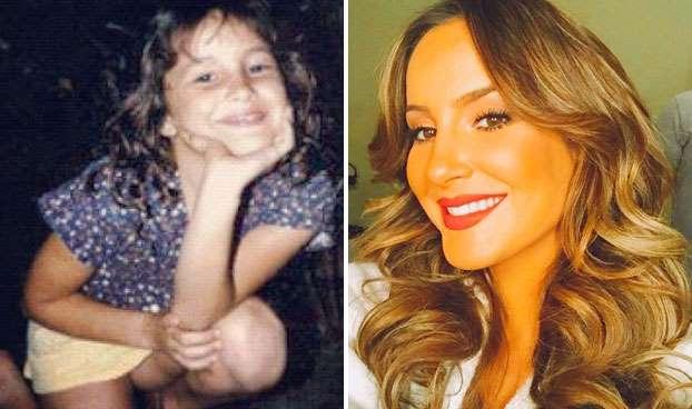 Foto de famosos brasileiros quando crianças