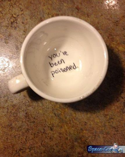 funny things mug picture