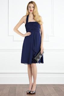 bridesmaid dress blue