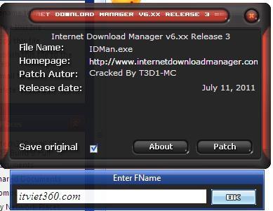 Download IDM 6.17 Build 9 và hướng dẫn cách bẻ khóa