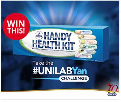 WIN a limited edition Unilab Handy Health Kit!
