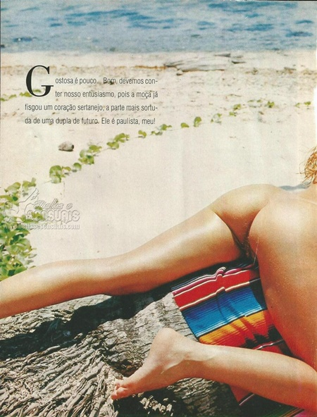 Fabia Tafarel na Revista Ele Ela | Mulheres Nuas | Famosas ...