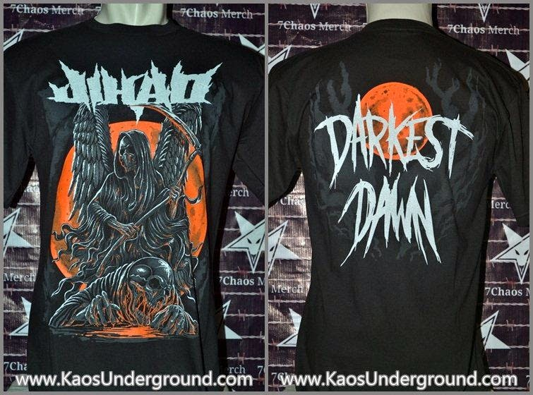 band jihad kaosunderground.com 7chaos merch heretic